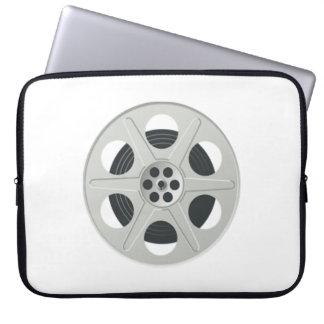 Carrete de la película de cine mangas computadora