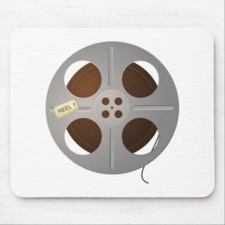 Carrete de la película de cine alfombrilla de ratón