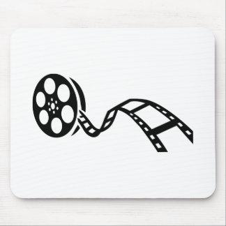 Carrete de la película de cine alfombrilla de raton