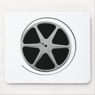 Carrete de la película tapetes de raton