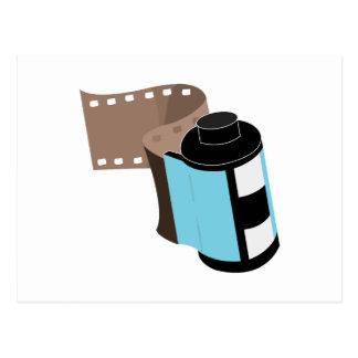 Carrete de película postal