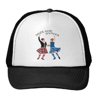 Carrete escocés de la danza de la montaña gorras