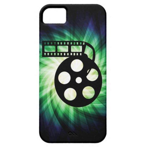 Carrete fresco de la película de cine iPhone 5 Case-Mate fundas
