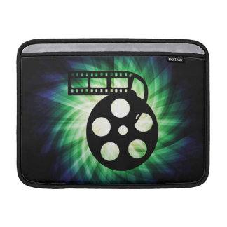 Carrete fresco de la película de cine funda para macbook air