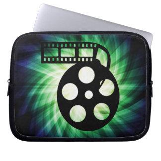 Carrete fresco de la película de cine fundas portátiles