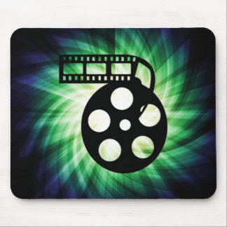 Carrete fresco de la película de cine tapetes de ratón