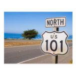 Carretera 101 del norte tarjeta postal