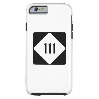 Carretera 111 de Carolina del Norte Funda Para iPhone 6 Tough