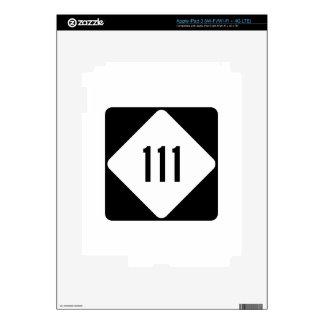 Carretera 111 de Carolina del Norte iPad 3 Pegatinas Skins