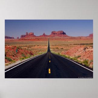 Carretera 163 póster
