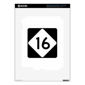 Carretera 16 de Carolina del Norte iPad 3 Pegatinas Skins