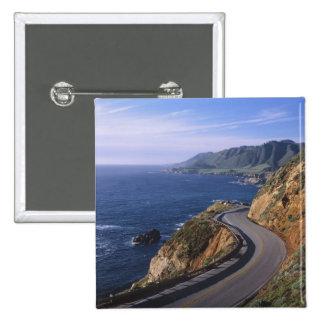 Carretera 1 a lo largo de la costa de California c Pin Cuadrado