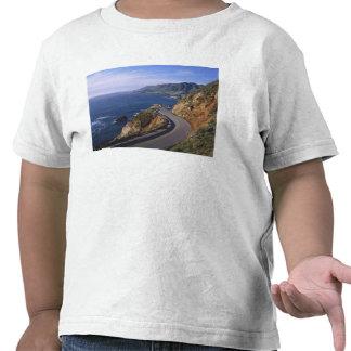 Carretera 1 a lo largo de la costa de California c Camiseta