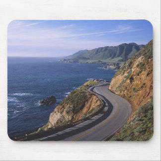 Carretera 1 a lo largo de la costa de California c Tapete De Raton