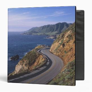 "Carretera 1 a lo largo de la costa de California Carpeta 1 1/2"""