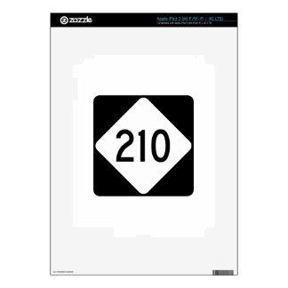 Carretera 210 de Carolina del Norte iPad 3 Skin