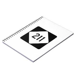Carretera 211 de Carolina del Norte Libro De Apuntes