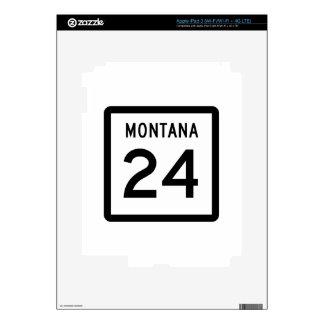 Carretera 24 de Montana iPad 3 Pegatina Skin
