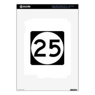 Carretera 25 de Mississippi iPad 3 Skins