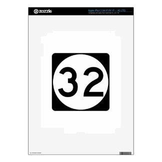 Carretera 32 de Mississippi iPad 3 Pegatina Skin