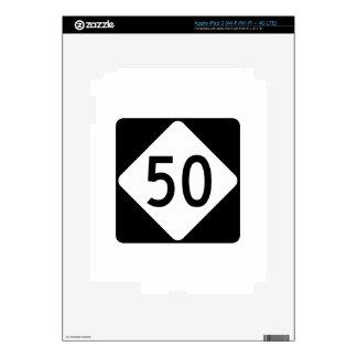 Carretera 50 de Carolina del Norte iPad 3 Pegatina Skin