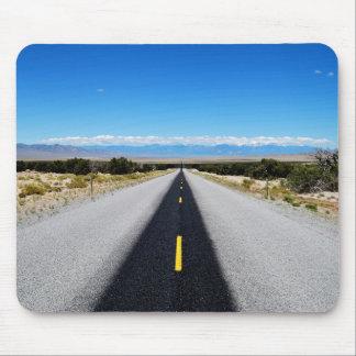 "Carretera 50"" estera del ratón del camino más mousepads"