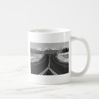 Carretera 52 taza básica blanca