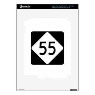 Carretera 55 de Carolina del Norte iPad 3 Pegatina Skin
