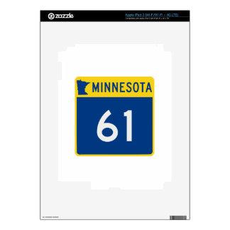Carretera 61 del tronco de Minnesota iPad 3 Skin
