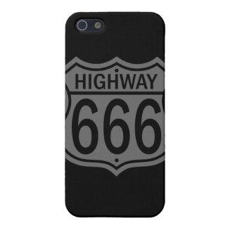 Carretera 666 iPhone 5 funda