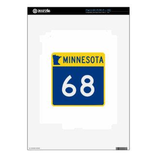 Carretera 68 del tronco de Minnesota Skins Para eliPad 2