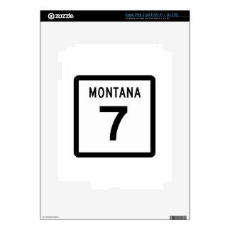 Carretera 7 de Montana iPad 3 Pegatina Skin