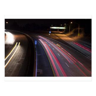Carretera 85 en night_.jpg postal