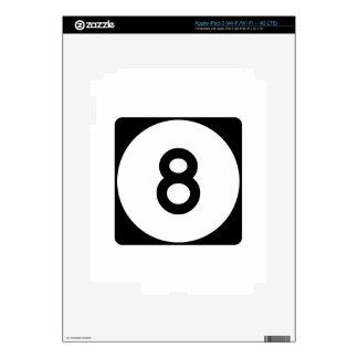 Carretera 8 de Mississippi Pegatinas Skins Para iPad 3
