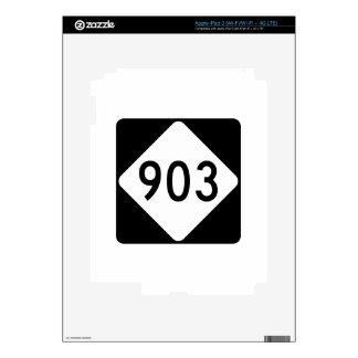 Carretera 903 de Carolina del Norte iPad 3 Skins