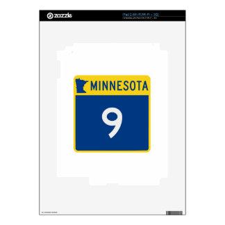 Carretera 9 del tronco de Minnesota Skins Para iPad 2