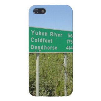 Carretera Alaska de Dalton iPhone 5 Carcasas