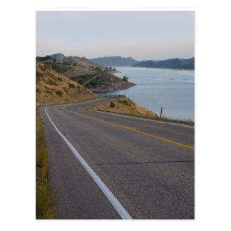 carretera cerca del depósito Colorado del horsetoo Tarjeta Postal