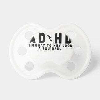 ¡Carretera de ACDC ADHD ey para mirar una ardilla! Chupetes De Bebe