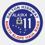 Carretera de Dalton, camino del norte del recorrid Etiquetas