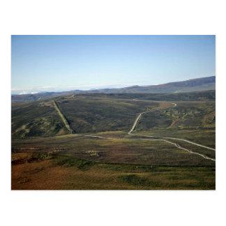 Carretera de Dalton y tubería de Transporte-Alaska Postales