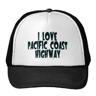 Carretera de la Costa del Pacífico Gorros Bordados