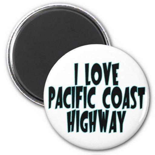 Carretera de la Costa del Pacífico Imán Redondo 5 Cm