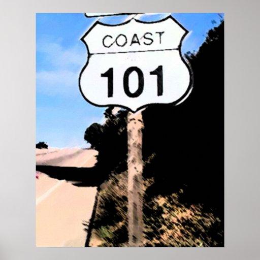 Carretera de la Costa del Pacífico Impresiones