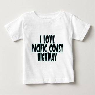 Carretera de la Costa del Pacífico Playera Para Bebé