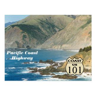 Carretera de la Costa del Pacífico Postal