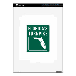 Carretera de peaje de la Florida, la Florida Pegatinas Skins Para iPad 3