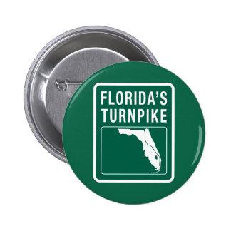 Carretera de peaje de la Florida, la Florida Pin Redondo De 2 Pulgadas