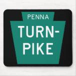 Carretera de peaje de Pennsylvania Tapetes De Raton