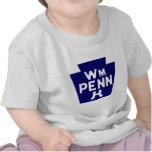 Carretera de William Penn Camisetas